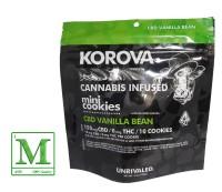 Korova - CBD Vanilla Bean Mini Cookies