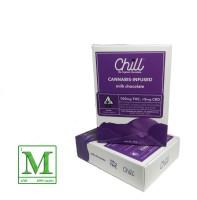 Chill - Milk Chocolate Bar 100mg