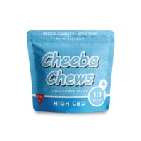 Cheeba Chews - 1:1 Taffy CBD:THC